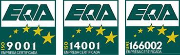 Certificados EQA 9001 14001 166002 Herga Energy 2019