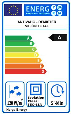 Antivaho eficiencia energética
